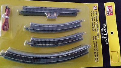 Z Scale - MICRO-TRAINS MTL 990 40 101 Oval Starter Pack Track Set