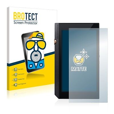 2x BROTECT Matte Screen Protector for Pioneer XDP-300R Protection Film