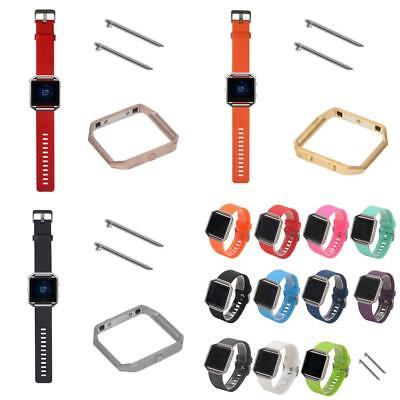 Soft Silicone Fitness Replacement Band Wrist Strap For Fitbit Blaze Smart Watch