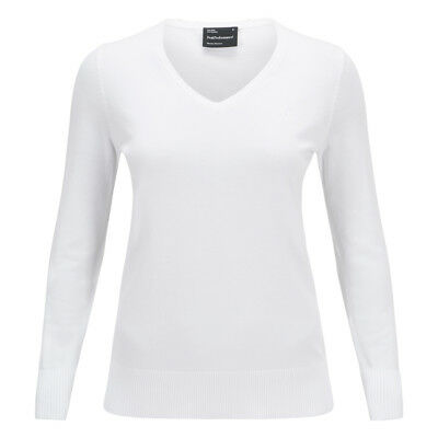 Peak Performance Pullover W Golf - weiß Damen NEU UVP 100,-