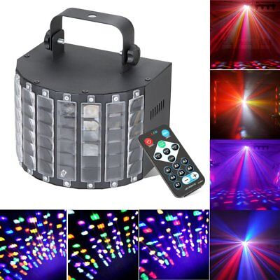 Sound Active DMX Stage Lighting LED Light Laser RGBW Effect Club Disco Party PE