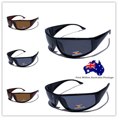 Mens Large Polarized Sport Vintage Fishing Large Polarised Sunglasses 376