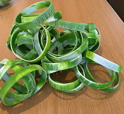 Mental Health Awareness Silicone Wristbands