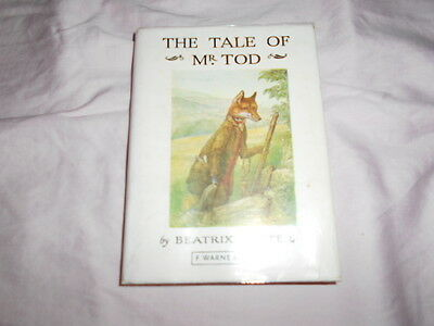 The Tale of Mr Tod Vintage early edition BOOK. Beatrix Potter