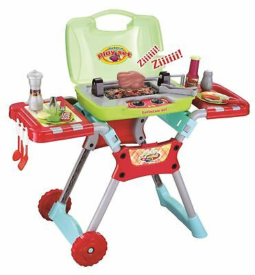 Vinsani Light & Sound BBQ Food Cooking Little Chef  Pretend Role Play Set