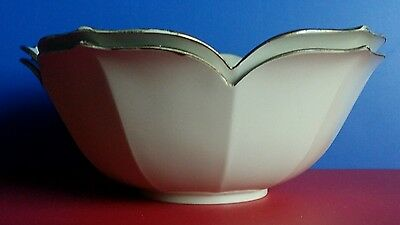 VTG Set OF 2 Hand Crafted  OTAGIRI ORIGINAL JAPAN Plastic  Bowls Flower Shape