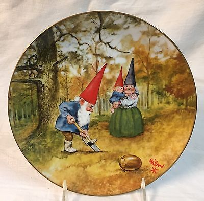Legends of the Gnomes BIRTHDAY PLANTING PLATE 2511/19500