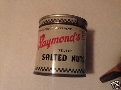 Antique Collectable Raymond's Salted Nuts AntiqueTin