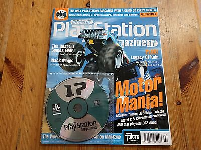 Official UK PlayStation Magazine - Issue 17 + PS1 Demo Disc Destruction Derby 2
