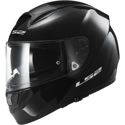 Solid LS2 Vector FF397 Full-Face Helmet  Part# 397-6001 XS