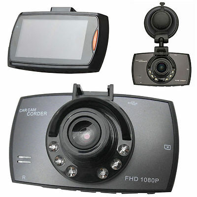 "LCD 1080P HD 2.4"" Car DVR Vehicle Camera Video Recorder Dash Cam Night Vision #K"