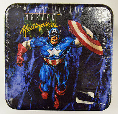 1993 Skybox Marvel Masterpieces Series 1 Individual Limited Ed. Tin 07832/35000