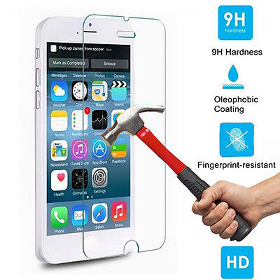Premium Real Screen Protector Tempered Glass Protective Film Guard For iPhone