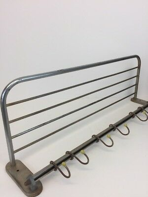 Vintage Industrial Coat Rack Made in Poland Hall Metal Coat Stand
