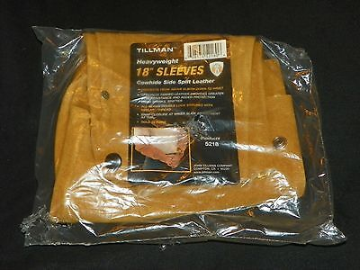 "Tillman 5218 Heavyweight 18"" Welding Sleeves Leather"