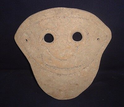 350 Bc Ancient South East Asian Funerary Mask Burial Offering