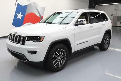 2017 Jeep Grand Cherokee Limited Sport Utility 4-Door 2017 JEEP GRAND CHEROKEE LIMITED PANO SUNROOF NAV 15K #702587 Texas Direct Auto