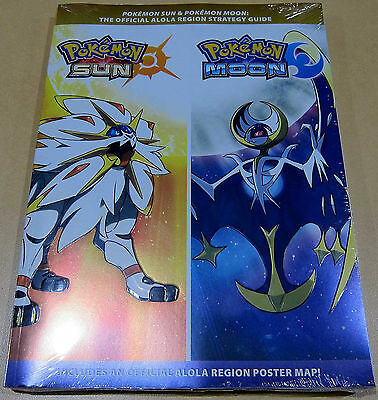 Pokemon Sun and Pokémon Moon: Official Strategy Guide - New Sealed