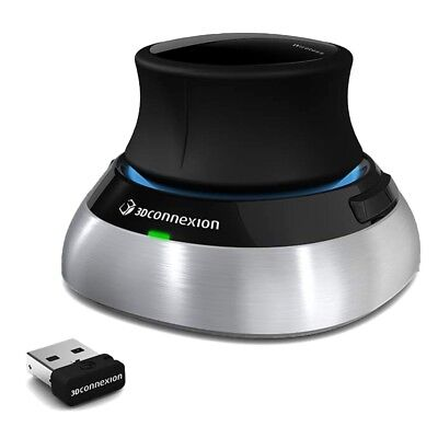 3Dconnexion SpaceMouse Wireless 3D Mouse 3DX-700043 NEW Free Expedited Shipping