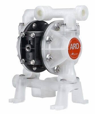 "ARO Ingersoll Rand PD05P Air Operated Diaphragm Pump 1/2"" Non-Metallic"