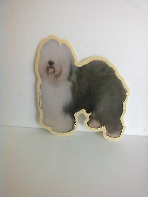 Old English Sheepdog  OES Window Decal Decals