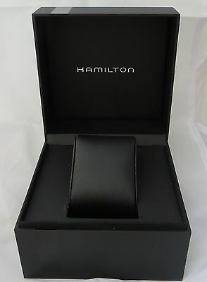 Hamilton Watch Box with outer box, inner box and cushion