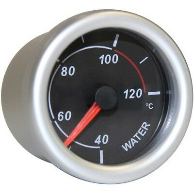 SAAS Autoline Gauge - Black Face, 52mm, Water Temperature, SG71220