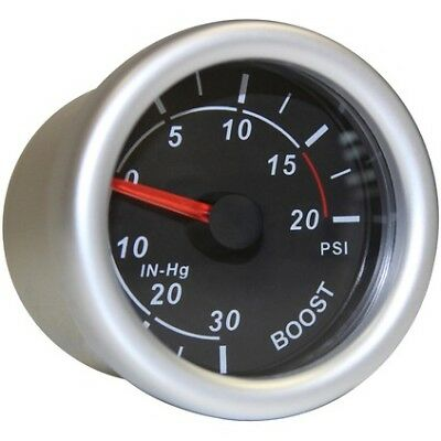 SAAS Autoline Gauge - Black Face, 52mm, Boost, SG71210