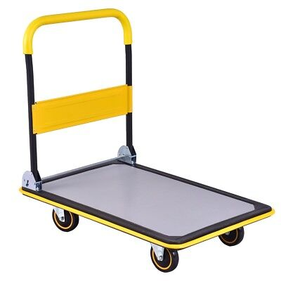 660 lbs Foldable Platform Cart Dolly Hand Truck Ease Transport Heavy Large Loads