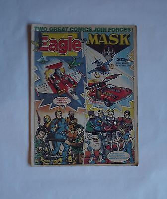 Eagle And Mask Comic 29th October 1988 The First in This Combined Title