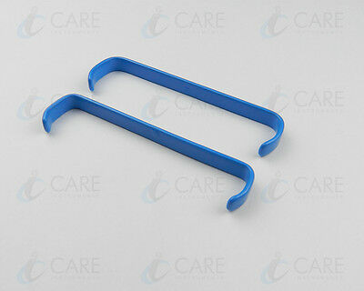 Farabeuf Retractor Insulated 8 cm, Double Ended Set Of  2, Care Instruments