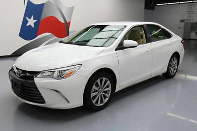 2016 Toyota Camry  2016 TOYOTA CAMRY XLE HTD LEATHER REAR CAM ALLOYS 21K #181187 Texas Direct Auto