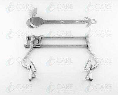 Care Balfour Abdominal Retractor (Blade Size 45 x 80 mm) Working Length 180 mm