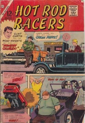 Hot Rod Racers Vol 1 No 6 1965 Charlton Comics Clint Curtis The Cream Puff Fine