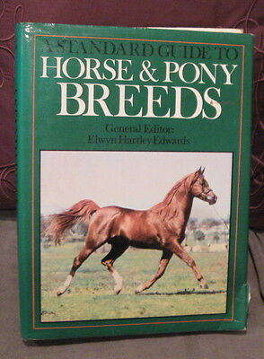 1980 Standard Guide To Horse & Pony Breeds by Elwyn Edwards,Horse Book,Pony Book