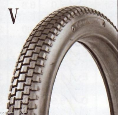 300-20 Coker Knobby Motorcycle Tires (70/90-20 + 80/90-20 Equivalent)