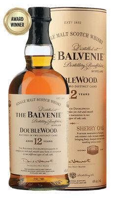 Balvenie 12YO DoubleWood Single Malt Scotch Whisky 700ml (Boxed)
