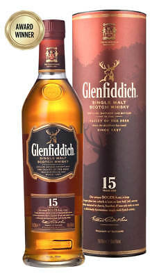 Glenfiddich 15YO Solera Reserve Scotch Whisky 700ml (Boxed)
