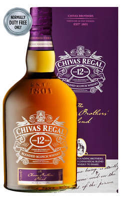 Chivas Regal Brothers Blend Scotch Whisky 1 Litre (Boxed)