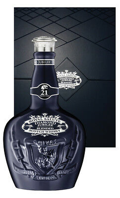 Chivas Regal Royal Salute 21YO Diamond Jubilee Scotch Whisky 700ml (Boxed)