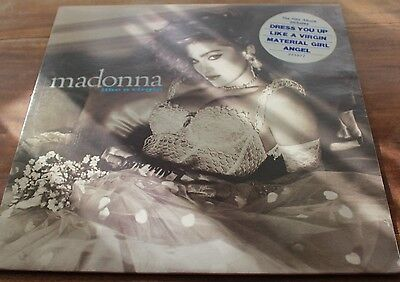 MADONNA LIKE A VIRGIN LP RECORD Sire records