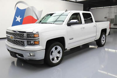 2015 Chevrolet Silverado 1500 LTZ Crew Cab Pickup 4-Door 2015 CHEVY SILVERADO LTZ CREW TEXAS LEATHER NAV 30K MI #398016 Texas Direct Auto
