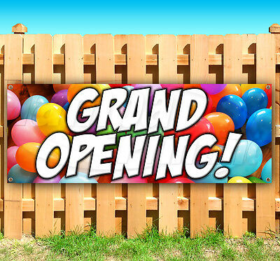 GRAND OPENING Advertising Vinyl Banner Sign LARGE SIZES! BUSINESS SIGNS USA