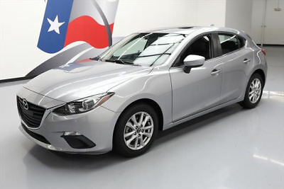 2014 Mazda Mazda3 i Grand Touring Hatchback 4-Door 2014 MAZDA MAZDA3 I GRAND TOURING SKYACTIV SUNROOF NAV #206719 Texas Direct Auto