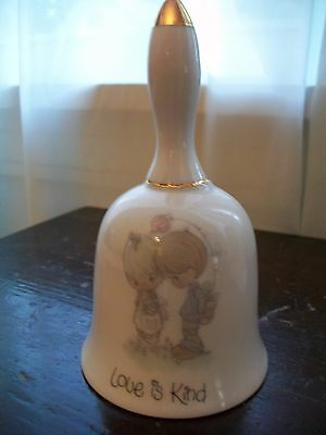 """Precious Moments """"Love Is Kind"""" Porcelain Bell 4.5"""""""