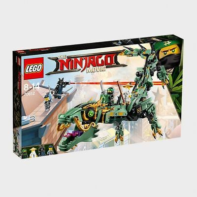 NEW THE LEGO NINJAGO Movie™ Green Ninja Mech Dragon 70612