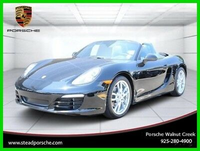 2014 Porsche Boxster Base Convertible 2-Door 2014 Used Certified 2.7L H6 24V Automatic RWD Convertible Premium