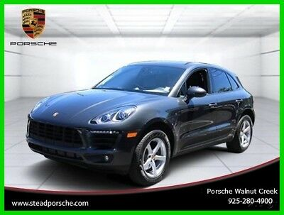 2017 Porsche Macan Base Sport Utility 4-Door 2017 Used Certified Turbo 2L I4 16V Automatic AWD SUV Premium