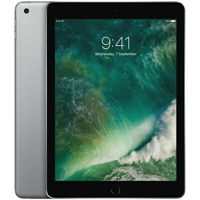 Apple 9.7inch iPad 2017 5th Generation Space Grey 32GB Wi-Fi Only Model MP2F2X/A