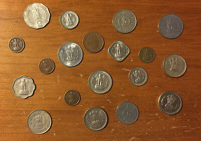 India Lot - 16 Coins Ranging from 1952-2002  **FREE SHIPPING**